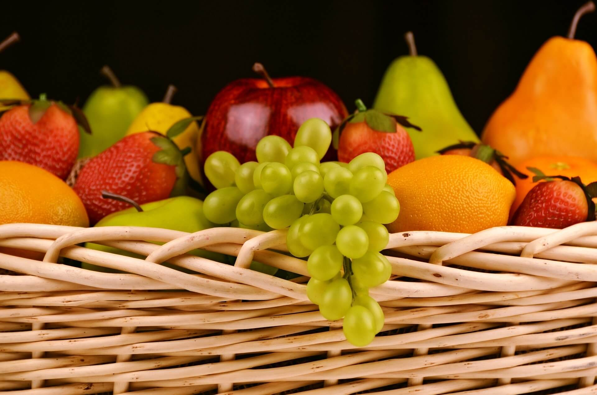 fruit basket - vets ashby north leicestershire xmas blog