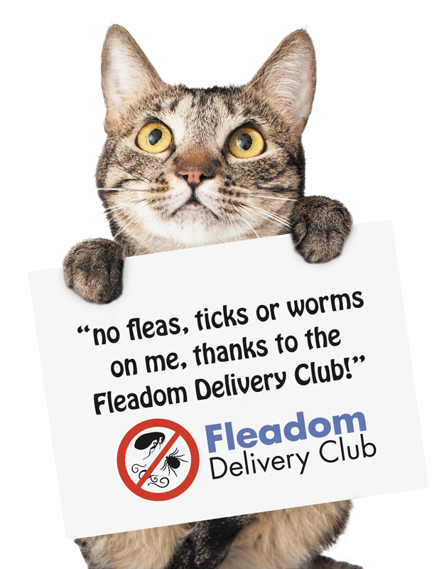 Fleadom Delivery Club - Parasite Prevention delivered to your door